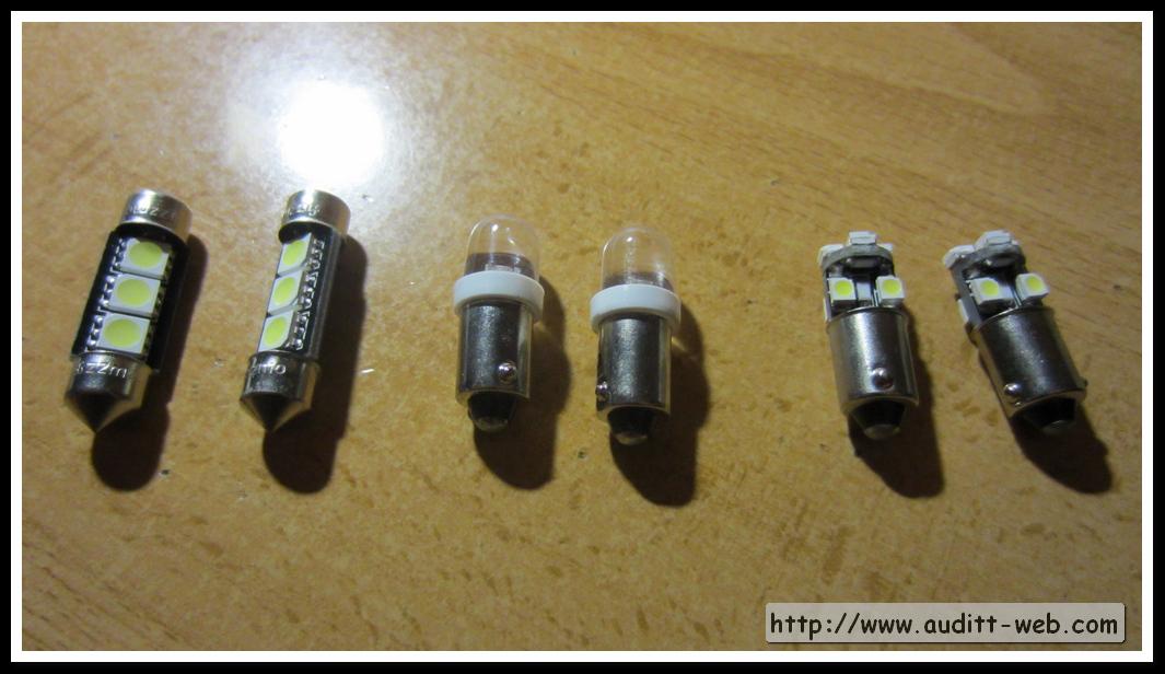 Audi tt - Tipos bombillas halogenas ...