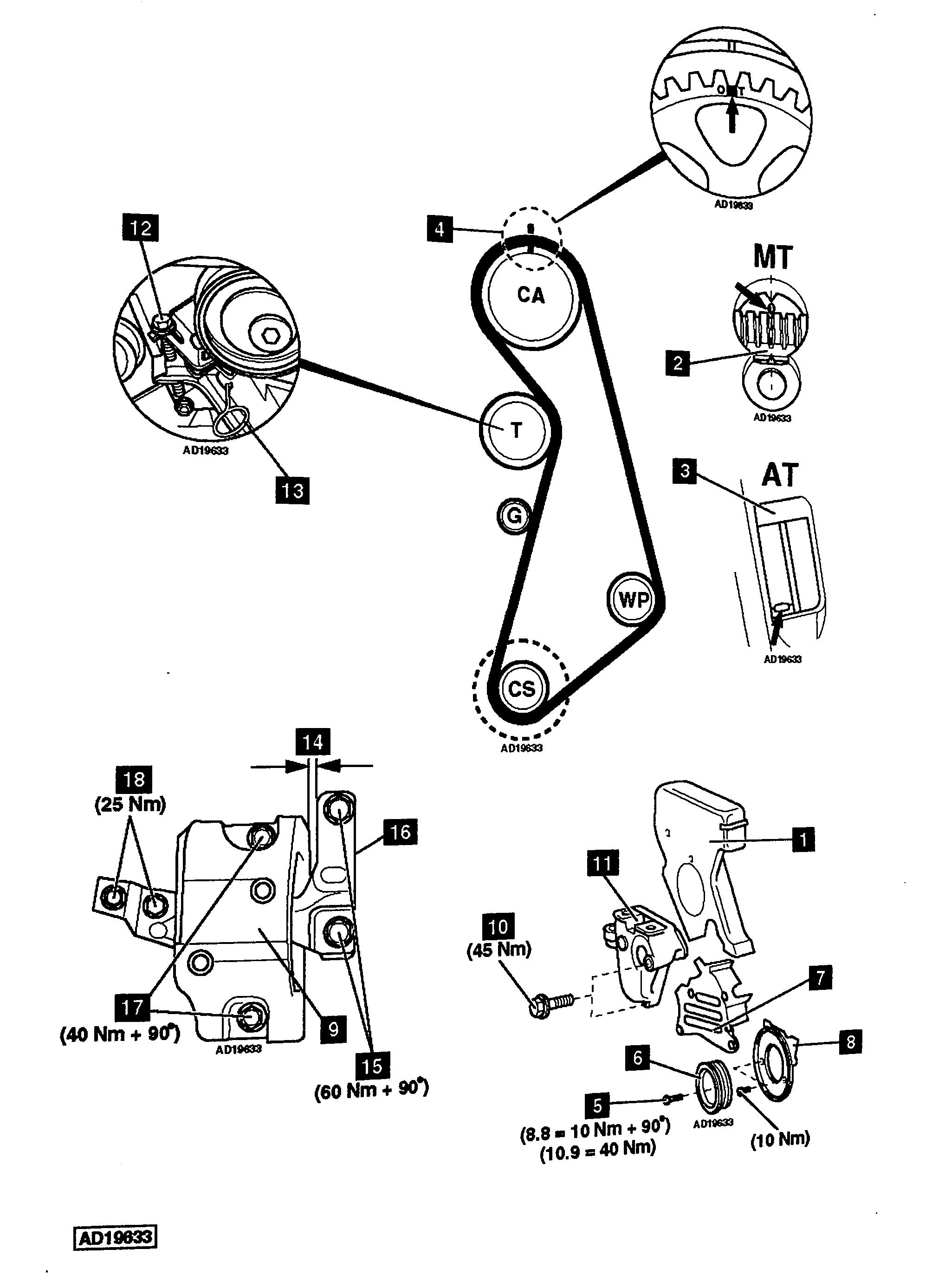 1997 Saturn Sc2 Timing Belt